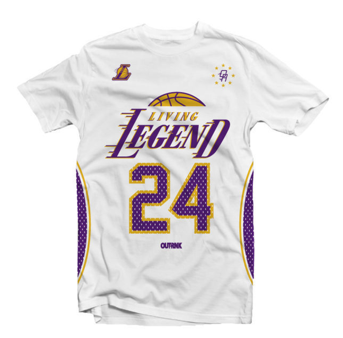 Living Legend T-Shirt (White/Prp)