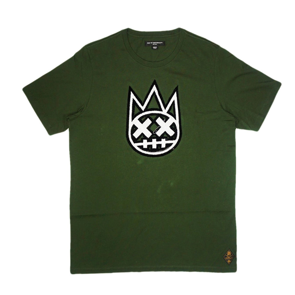 Embroidery Shimuchan S/S Tee (Hunter Green) /D7