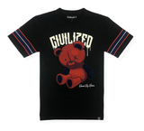 Teddy Bear Drip Tee (Black/Red) / D17