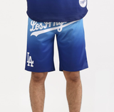LA Dodgers Gradient Shorts (Blue) / D18