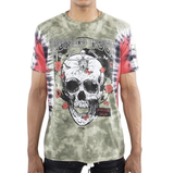 World Tour Tie-Dye Tee (Green/Red) / D18