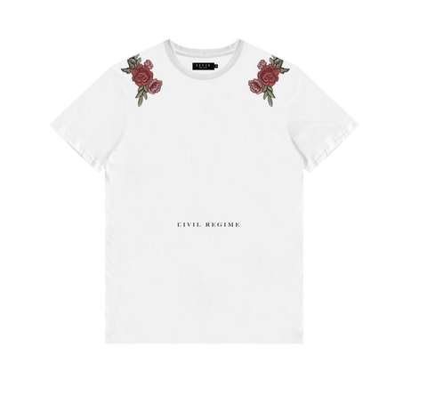 Civil Clothing- Tropez Tee (White)