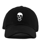 Skull Dad Hat (Black)