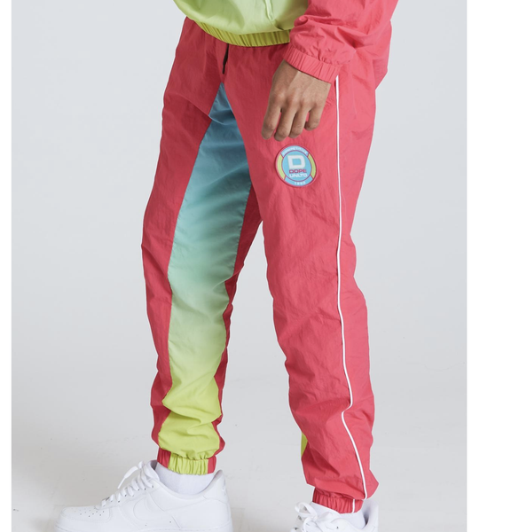 Retro Windbreaker Pants (Neon) /C3