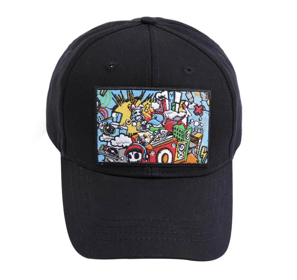 Monster Block Party Hat (Black)