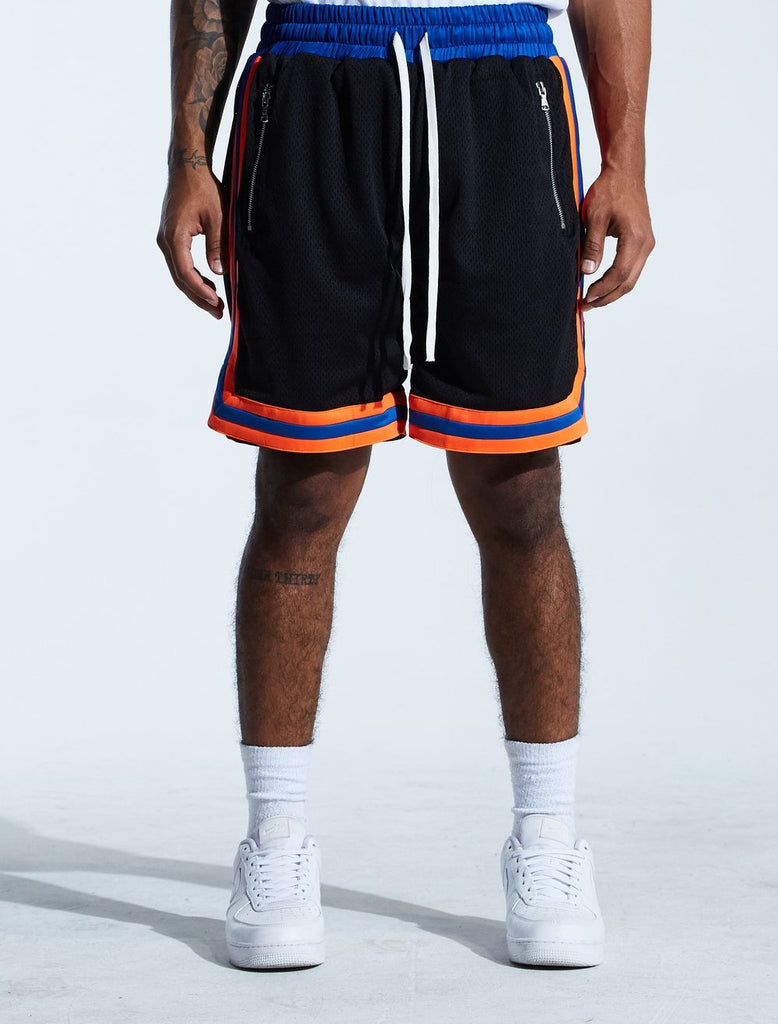 Basketball Mesh Shorts Knicks (Blk/Blu/Org)/C9