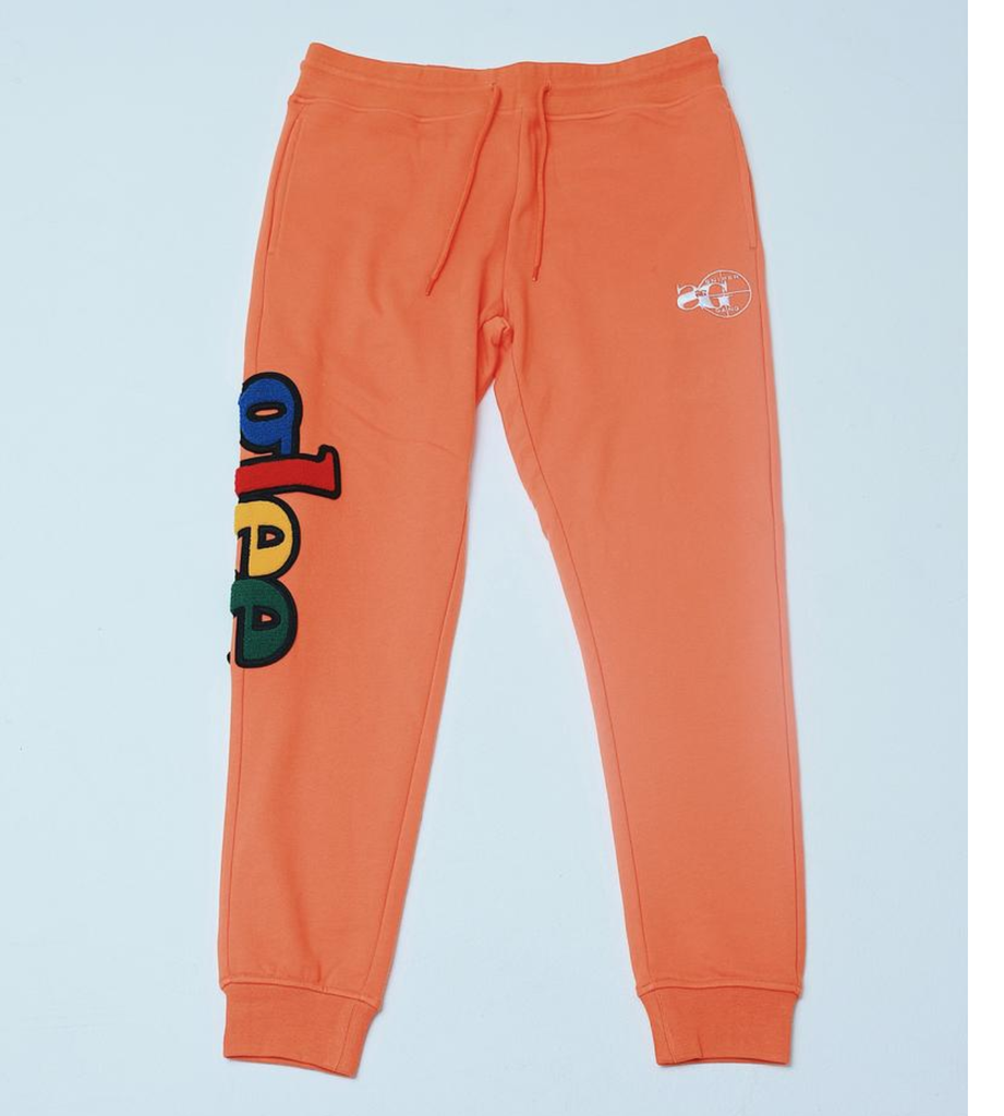 Glee Chenille Jogger (Orange) /D7