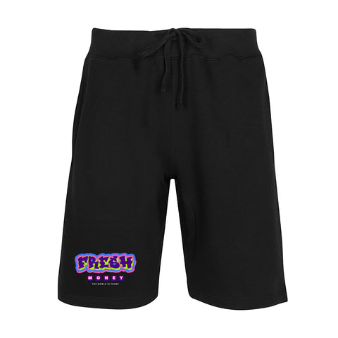 Fresh Fleece Shorts (Black) /C3