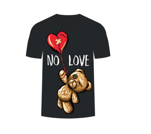 No Love SS Tee (Black) / D11