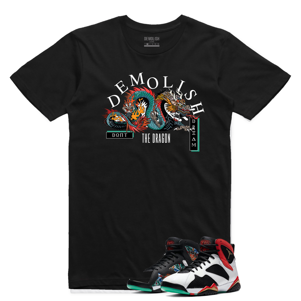 Don't Dream Dragon Tee (Black) /D3