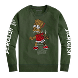 Bart Puzzled Crew (Olive) /D12