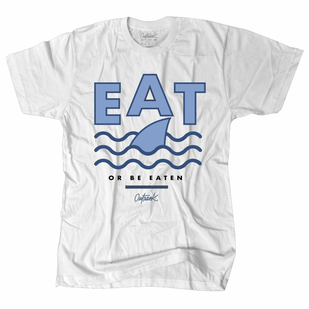 Eat Shark Tee (White)