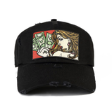 Money Tear Hat (Black)