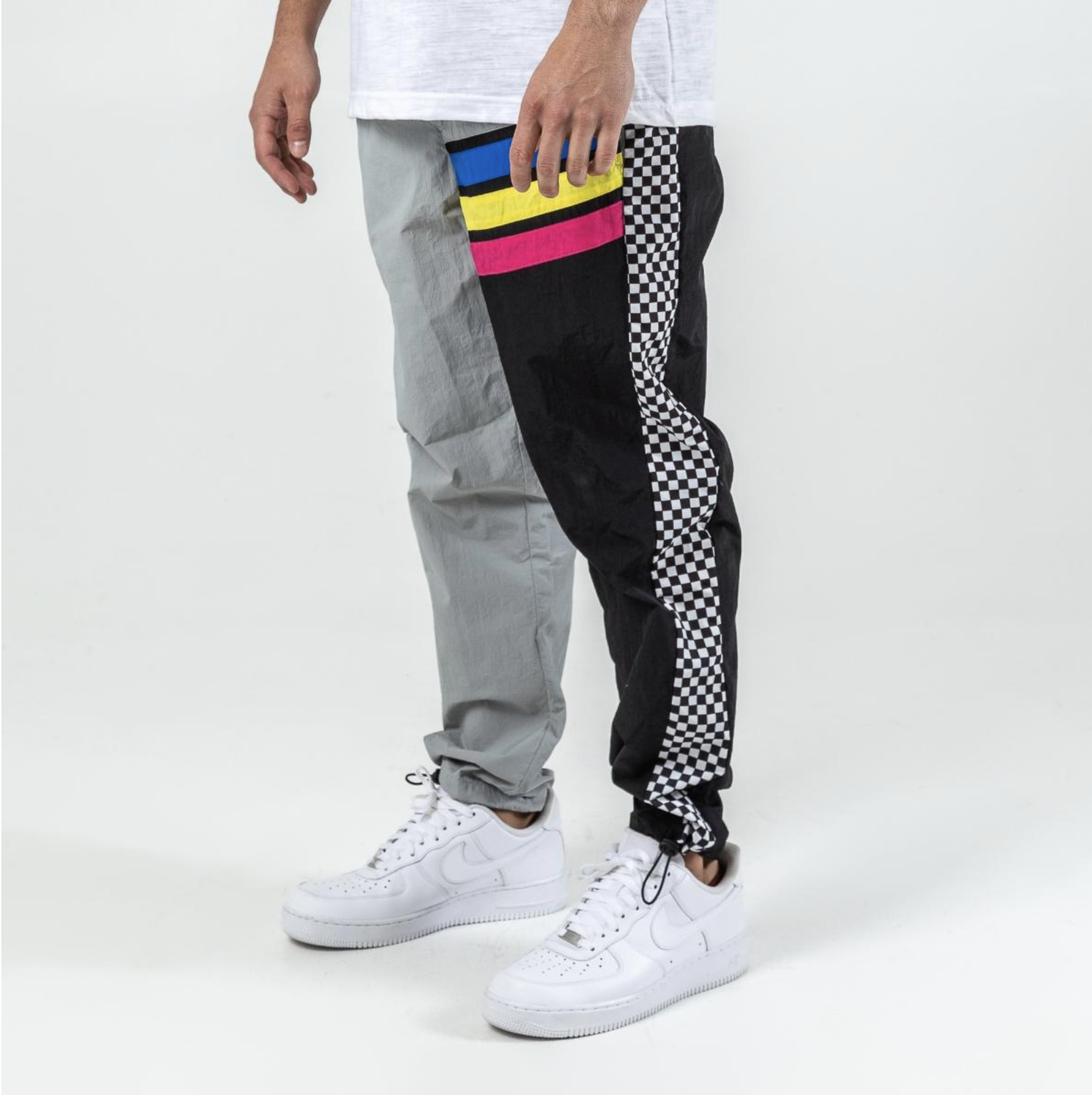 Dolphin Motorsports Track Pants (Blk/Grey)/C4