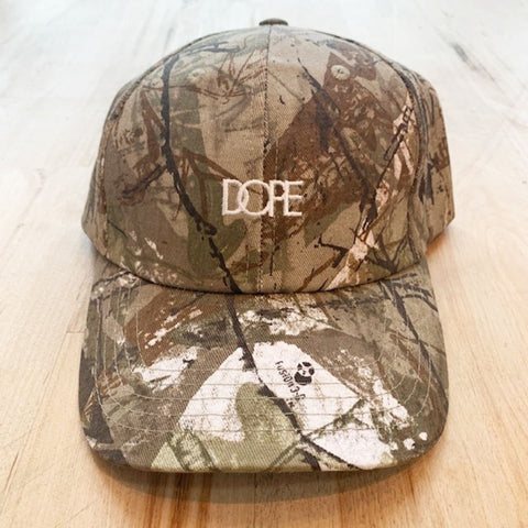 Woodsman Dad Hat (Tree Camo)