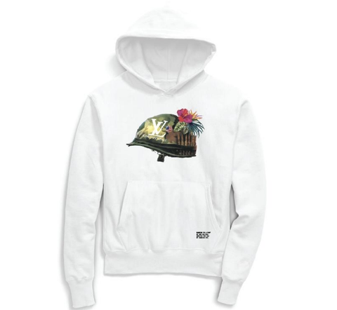 Love Over Violence Hoodie (White)/BC2