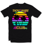 Thousnaire Money Sunset Tee (Black) /D6