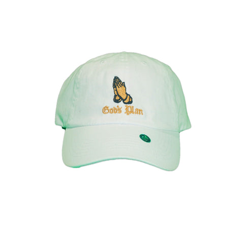 Gods Plan Dad Hat (White)