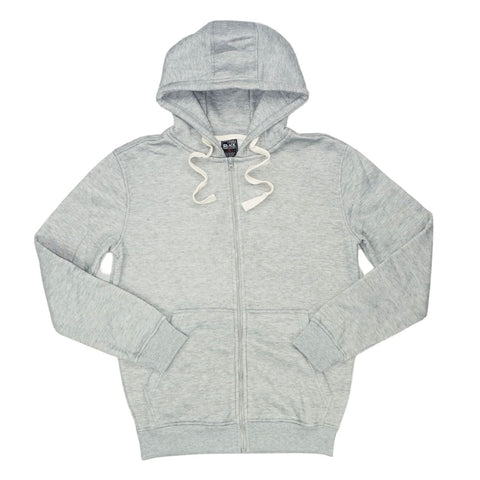 Grey Zip Hoodie Jacket (Grey) /D6