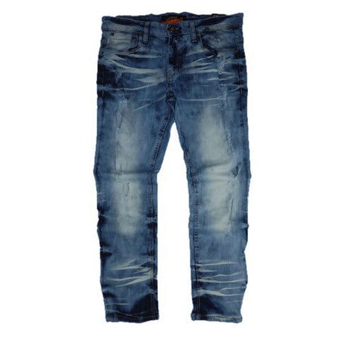 Bleached Wash Denim (Blue) /C4
