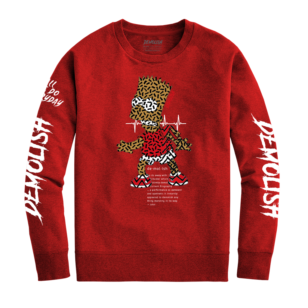 Bart Puzzled Crew (Red) /D12