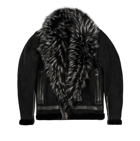 Rockstar Keagan Fur Jacket (Black)