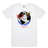 Global Warming Tee (Wte/Blue/Red) / D3