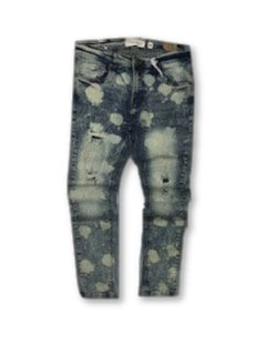 Distressed Spot Denim (Med Tint) /C5