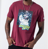Spaced Out Tee (Burgundy) /D5