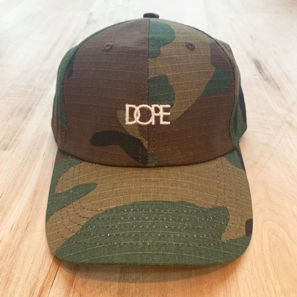 Woodsman Dad Hat (Woodland Camo)