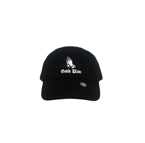 Gods Plan Dad Hat (Black)