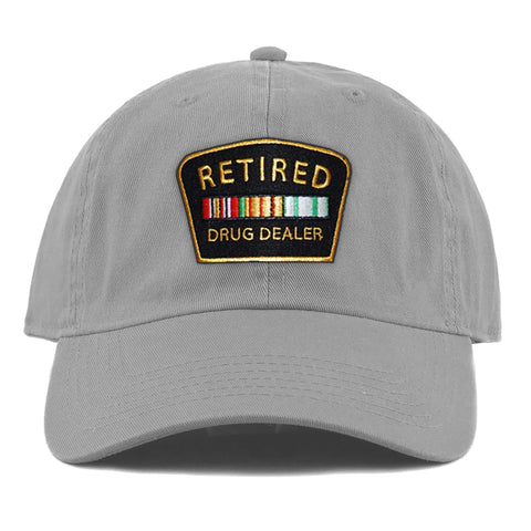 Nix Smith Co- Retired Drug Dealer Hat (L.Grey)