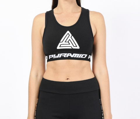 Wmn Logo Tape Sports Bra (Black) / MD2