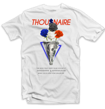 Rose Money Concrete Tee (White/Org/Royal)