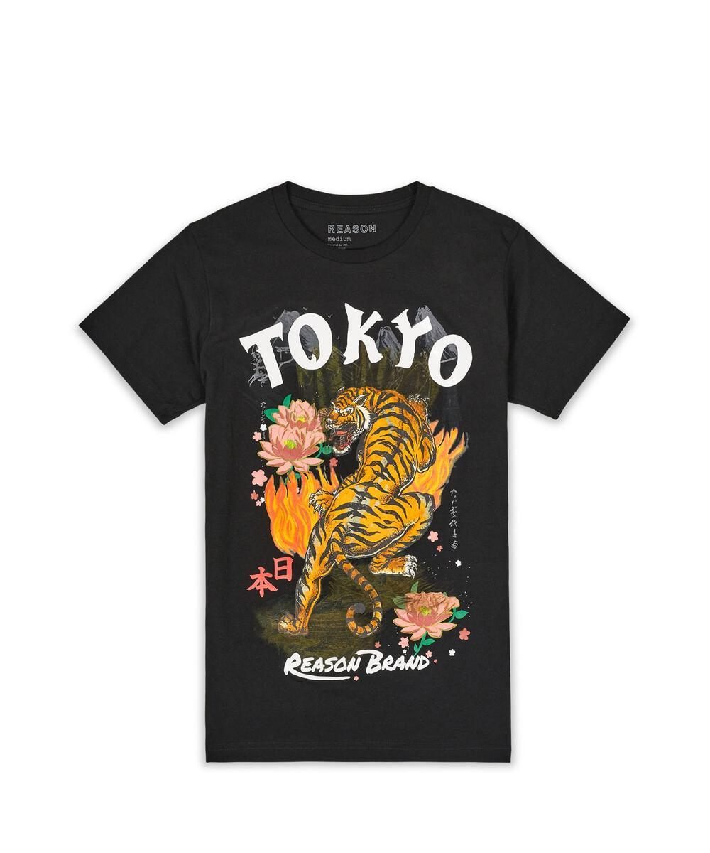 Quick  Tiger Tee ( Black ) / D7