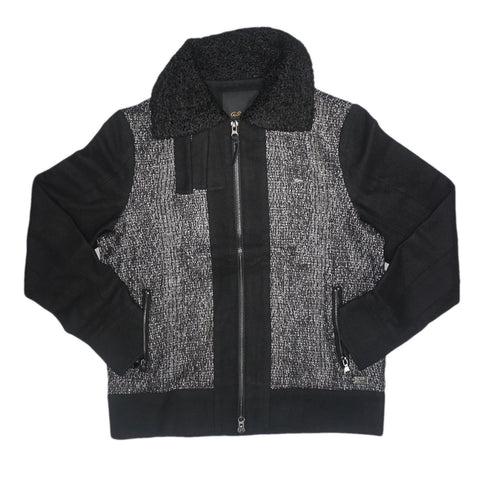 Miles Block Jacket (Caviar)