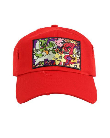 Lil Monster Hat (Red)
