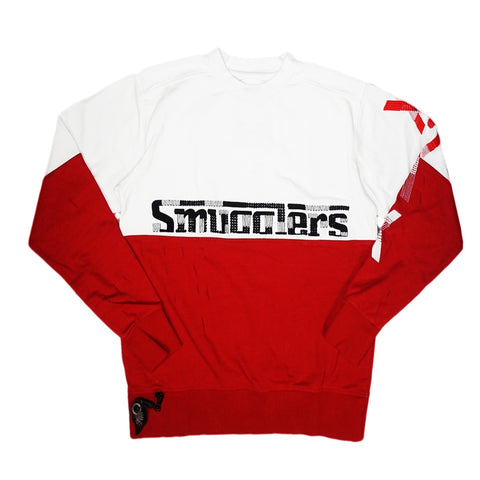 Smugglers Half Crewneck (Cream/Red)BC3