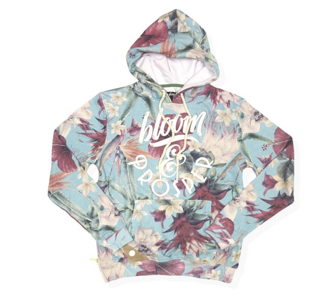 Bloom Prosper Hoodie (Blue Chill)