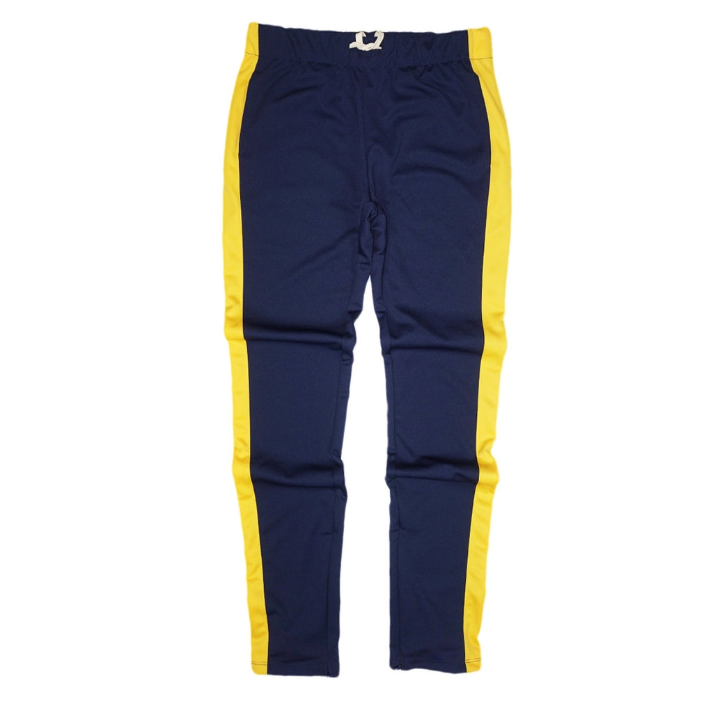 Techno Track Pants (Navy/Gold) / C5