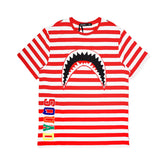 Squad SharkMouth SS Shirt (Red)