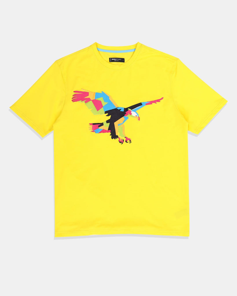 Fly High Tee (Yellow) / D14