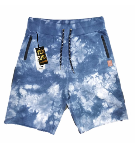 YE Color Block Shorts (Tie-Dye) / C7