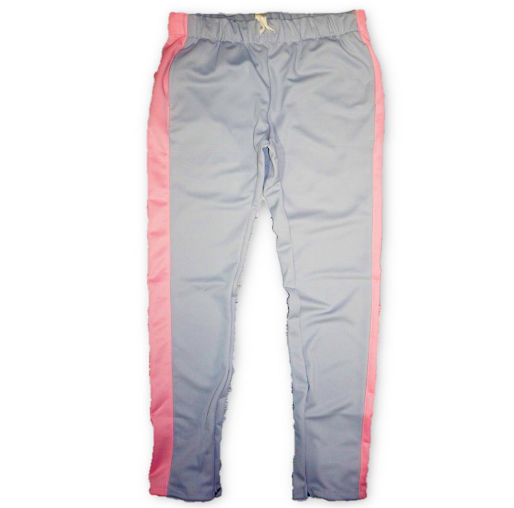 Techno Track Pants (Grey/Pink) /D7