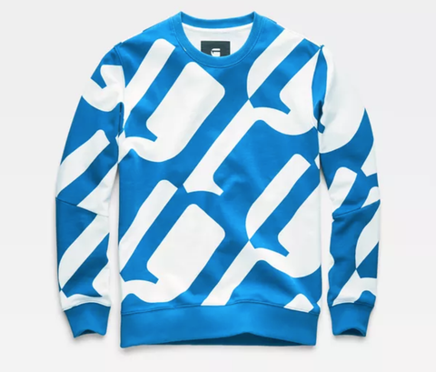 Hyce Stalt DC R Sweater (Milk/Hudson Blue)