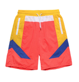 Color Block Nylon Shorts (Solar) /C5