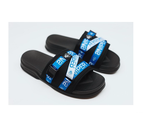 Sniper Strapped Up Slides (Blue)