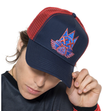 SE Bikes Mesh Trucker Hat (Red)