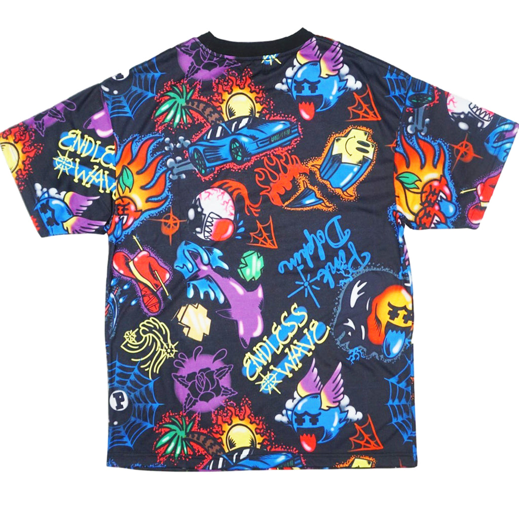 Airbrush Hallucinations Tee (Black)