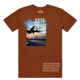 Airplane Take Off Tee (Rust) /D8